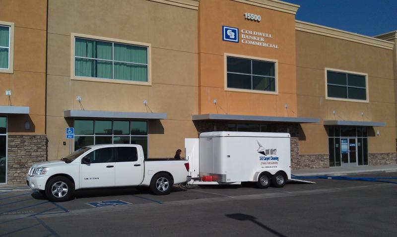 Carpet Cleaning @ Coldwell Banker Commercial Victorville